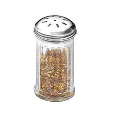 American Metalcraft GLA317 Spice Shaker w/ 12-oz Capacity, Glass/Stainless