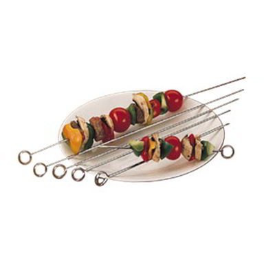 American Metalcraft 24008 8-in Skewer w/ Tempered Piercing Blade, Stainless