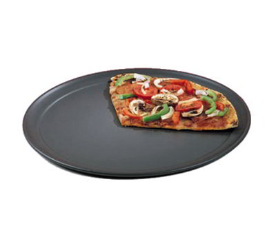 American Metalcraft HCTP12 12-in Wide Rim Pizza Pan, Hardcoat, Aluminum