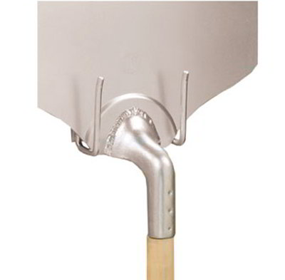 American Metalcraft WPH45153 4.62-in Peel Hanger w/ Screws, Chrome/Steel