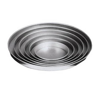 American Metalcraft A4013 13-in Straight Sided Pizza Pan, 1-in Deep, Solid, Aluminum
