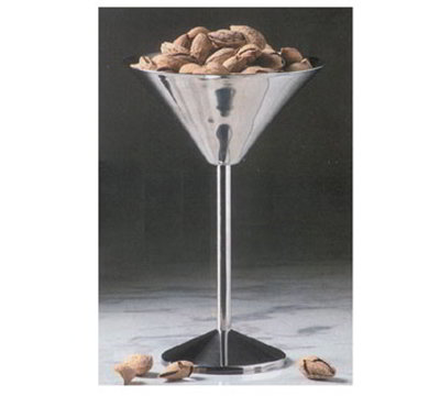 American Metalcraft JMART15 9-in Martini Glass Server w/ 50-oz Capacity, Stainless