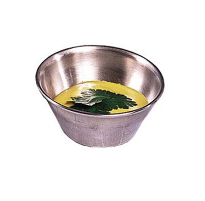 American Metalcraft B34 3-in Sauce Dish w/ 4-oz Capacity, Stainless
