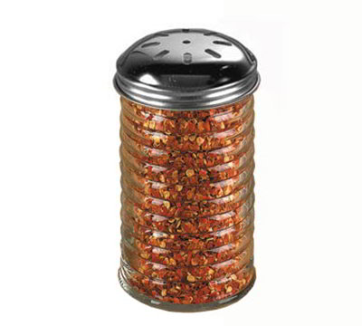 American Metalcraft BEE317 Spice Shaker w/ 12-oz Capacity & Top, Glass/Stainless