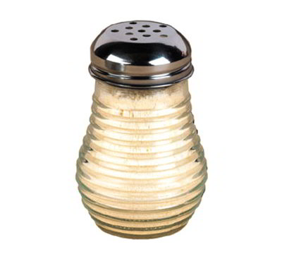 American Metalcraft BEE606 Cheese Shaker w/ 6-oz Capacity, Glass/Stainless