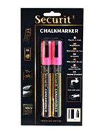 American Metalcraft BLSMA510PI Small Tip Chalk Marker, Pink