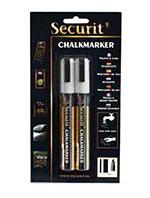 American Metalcraft BLSMA510WT Small Tip Chalk Marker, White
