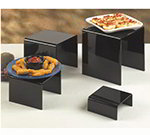 American Metalcraft BRS2 4-Piece Riser Set, Black/Acrylic