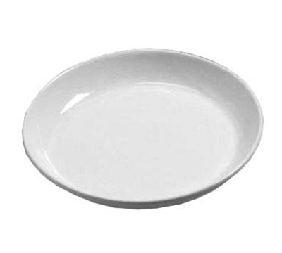 American Metalcraft CER13 14-in Round Plate, Ceramic/White