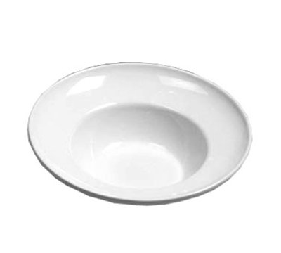 American Metalcraft CER7 12-in Bowl w/ 60-oz Capacity, Ceramic/White