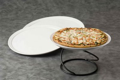 American Metalcraft CERAM12 12-in Pizza Tray, Ceramic