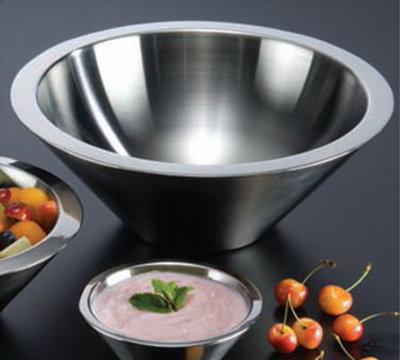 American Metalcraft CIB14 14-in Double Wall Bowl, Stainless