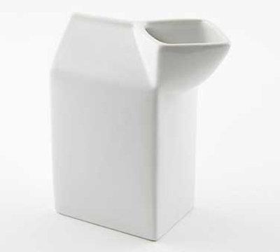 American Metalcraft CMCC10 Creamer w/ 10.5-oz Capacity & Spout, Ceramic
