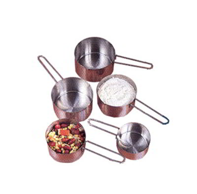 American Metalcraft MCW75 Measuring Cup w/ .75-Cup Capacity & Wire Loop Handle, Stainless