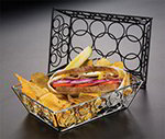 American Metalcraft EBB95C Rectangular Basket, Chrome