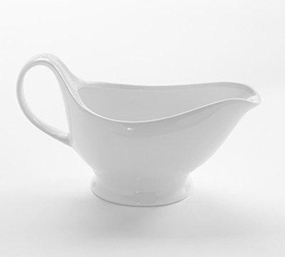 American Metalcraft GB16 16-oz Gravy Boat - White Porcelain