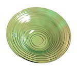 American Metalcraft GBG14 14-in Recycled Bowl, Green/Glass