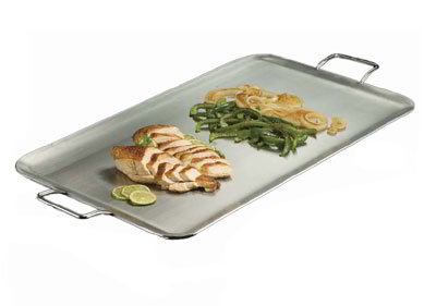 American Metalcraft GSSS1526 26.5-in Rectangular Griddle w/ Handle, Stainless