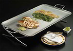 American Metalcraft GSST2514 25-in Rectangular Griddle Stand, Stainless