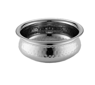American Metalcraft HB7 38-oz Round Bowl - Hammered-Finish Stainless