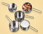 American Metalcraft MCW12 Measuring Cup w/ 1/2-Cup Capacity & Wire Loop Handle, Stainless