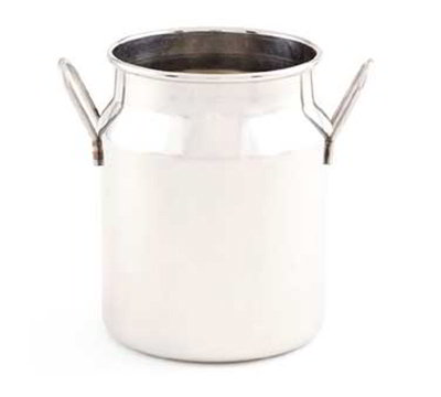 American Metalcraft MICH10 3.12-in Round Milk Can w/ 10-oz Capacity, Stainless