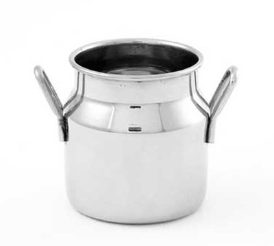 American Metalcraft MICH5 2-in Round Milk Can w/ 5-oz Capacity, Stainless
