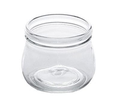 American Metalcraft MJ17 17oz Glass Mason Jar - Clear
