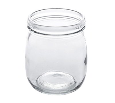 American Metalcraft MJ22 22-oz Glass Mason Jar - Clear