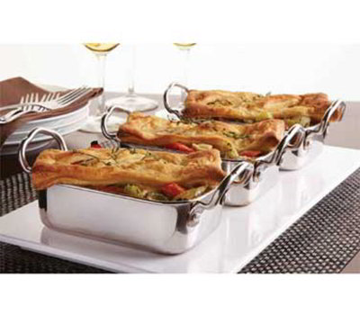 American Metalcraft MRP53 Mini Roasting Pan w/ 17-oz Capacity & 2-Handle, Stainless