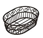 American Metalcraft OSC9 Oval Bread Basket w/ Scroll