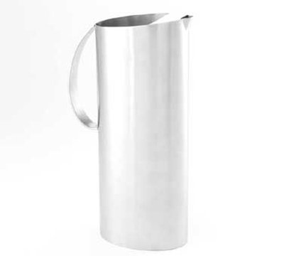 American Metalcraft OWPIT54 Water Pitcher w/ 54-oz Capacity & Ice Guard, Satin, Stainless