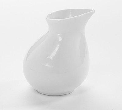 American Metalcraft PCR5 5-oz Creamer - White Porcelain