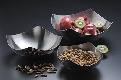 American Metalcraft SB7 Solid Bowl w/ No Holes, 11x3-in, Stainless