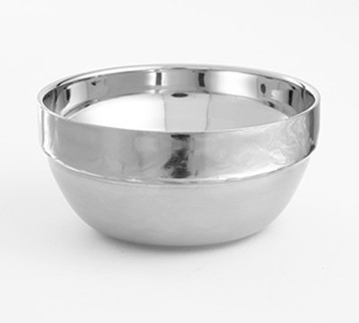 American Metalcraft SDWB40 8-oz Stackable Bowl - Mirror/Satin-Finish Stainless
