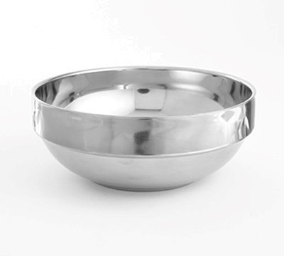 American Metalcraft SDWB55 16-oz Stackable Bowl - Mirror/Satin-Finish Stainless