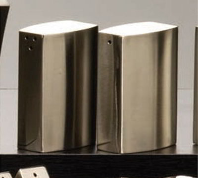 American Metalcraft SPDX55 Salt & Pepper Shaker Set, Stainless