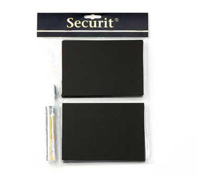 American Metalcraft TAGA6WT Mini Chalk Card w/ Chalk Marker