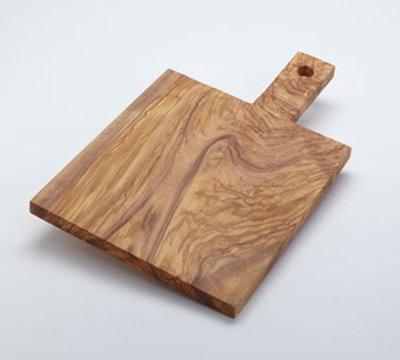 American Metalcraft OWB149 Serving Board w/ Handle, Olive Wood