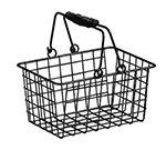 American Metalcraft RBHB975 Rectangular Basket w/ Double
