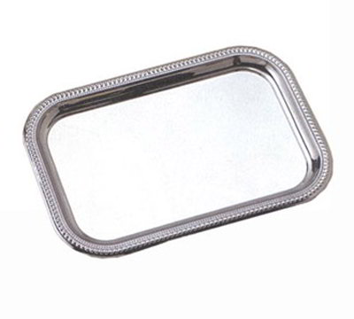 American Metalcraft SSTRT22 Rectangular Serving Tray, Stainless