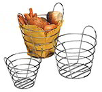 American Metalcraft WBC705 7-in Round Basket, Wire/Chrome