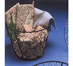 American Metalcraft WIR2 Wire Basket, 7x5.5-in, Black
