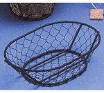 American Metalcraft WIR4 Wire Basket, 9.5x2.5-in, Black