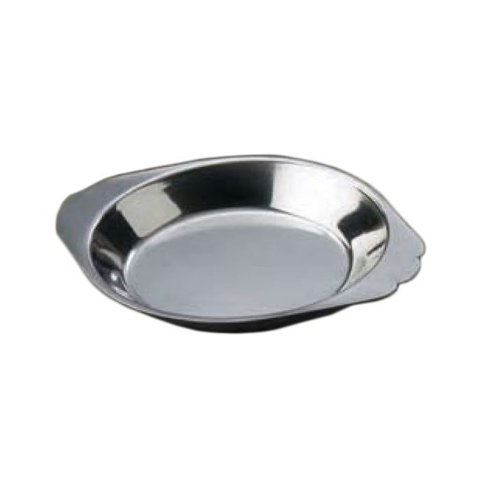 American Metalcraft AR100 Round Au Gratin Dish w/ 10-oz Capacity, Stainless