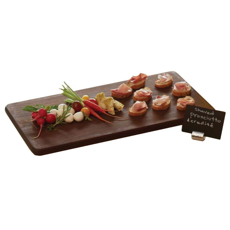 "American Metalcraft AWB1021 Rectangular Serving Board, 21"" x 10"" x 3/4"", Ash Wood"