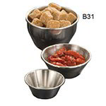 "American Metalcraft B31 3.5"" Sauce Dish w/ 8-oz Capacity, Stainless"