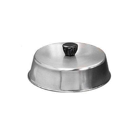 "American Metalcraft BA940S 9.25"" Basting Cover w/ Bakelite Knob, Black, Stainless"