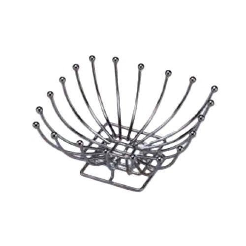 American Metalcraft BAS2 Time Continuum Basket w/ Balled Tip, Chrome