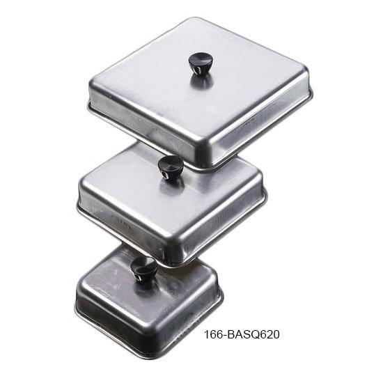 """American Metalcraft BASQ620 6"""" Square Basting Cover, aluminum"""